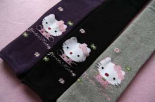 Pairs of Girls Hello Kitty Tights Pants For Age 4 6 Super Cute Ship