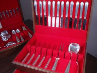 117 Piece Lady Hilton Sterling Silver Flatware Set by Westmorland