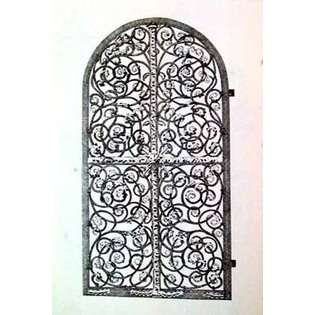 ow Wrought Iron Gate VI By Unknown 14 X 18