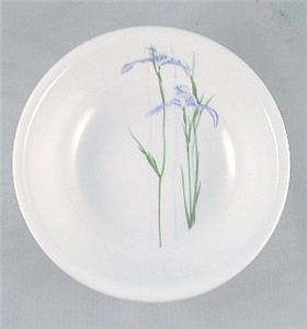 VHTF CORELLE SHADOW IRIS 8.5 DIVIDED LUNCH PLATE *NEW