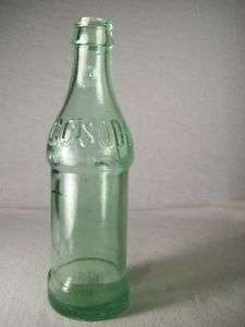 Vintage CC SODA Bottle Star Baltimore MD 6 1/2 Oz Green