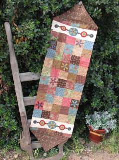 Dress up your table with this Funky Table Runner, finished size 15 x
