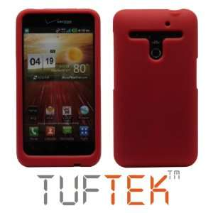 TUF TEK Bright Red Soft Silicone / Gel / Rubber Skin Cover
