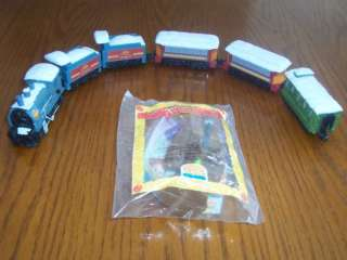Burger King Toy Anastasia 1997 Train Lot of 6 Rasputin