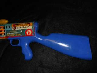 RARE TOM CORBETT SPACE GUN BY MARX WITH ORIGINAL BOX MINTY TOY
