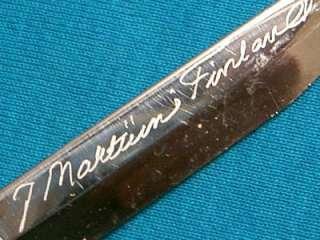 MARTTIINI FINLAND LAPINLEUKU PUUKKO HUNTING FISHING KNIFE SET KNIVES