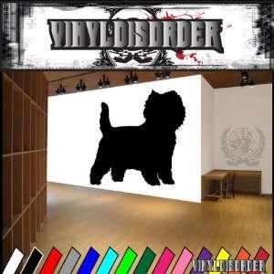 Dogs Terrier Cairn Terrier 2 Vinyl Decal Wall Art Sticker