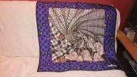 Stunning New Auth CHRISTIAN DIOR Silk Scarf