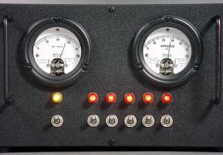 TRANSMITTER DYNAMOTOR 28 VOLT DC VOLT 50 AMP METER SWITCH BOX