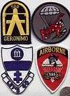 ARMY WW2 WWII AIRBORNE INFANTRY PATCH 509th GERONIMO GINGER BREAD MAN