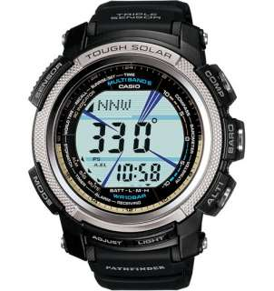 Casio PAW2000 1 Solar Atomic Pathfinder Mens Watch