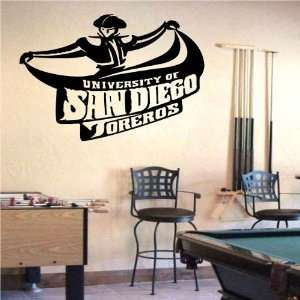 Ncaa Wall Mural Vinyl Sticker Sports Logos San Diego