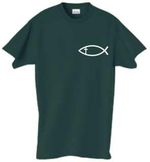 Shirt/Tank   Christian Fish Cross   religion religious