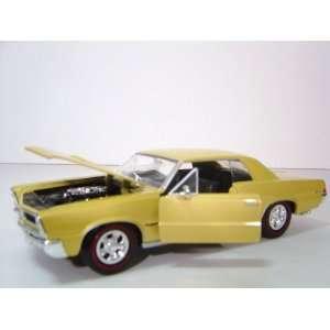 PONTIAC GTO 1965 1/24 DIE CAST Toys & Games