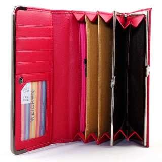 NEW fashion ladies women long handbags clutch wallet/purse 8 colours