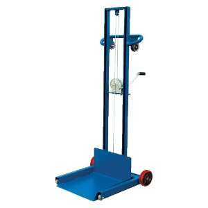 Vestil LLPW 500 FW Low Profile Lite Load Lift with Hand Winch, Steel