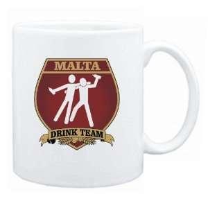 New  Malta Drink Team Sign   Drunks Shield  Mug Country