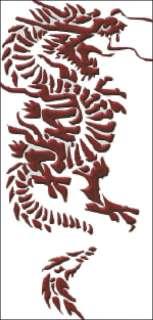 Chinese Dragon Cross Stitch Pattern