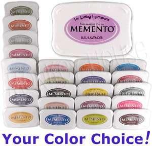 MEMENTO Tsukineko fade/water resist ink pad Dye Inkpad
