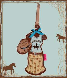 Travel Cowgirl Chic ~ Country Diva Luggage Bag ID Tag