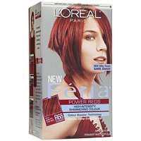 Oreal Power Reds Hair Color Ruby Rush R68 Ulta   Cosmetics