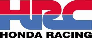 HRC HONDA RACING Vinyl Decal Sticker 5 wide FULL COLOR
