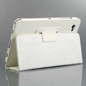 / Leather Stand Case for Galaxy Tab GT P6800 / Galaxy Tab 7.7 +Free