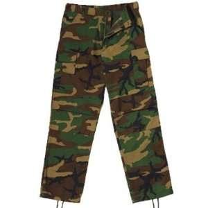 Woodland Camo Bdu Pants   X Large [Misc.] Sports