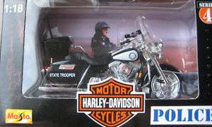 Florida Highway Patrol Harley Davidson Police Cycle MIB