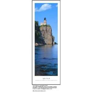 Split Rock Lighthouse James Blakeway 14x40: Home & Kitchen