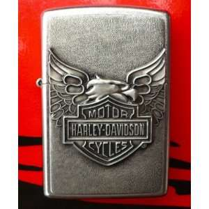 ZIPPO HARLEY EAGLE LIGHTER ~LIMITED ED SERIES~ #20230 LE1