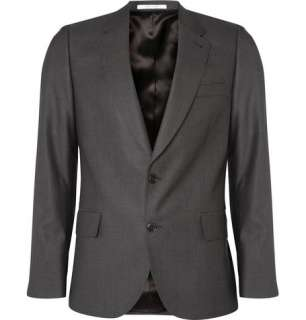 Blazers  Single breasted  Wool Blend Tailored Jacket