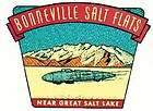 Bonneville Salt Flats, UT Utah Hot Rod Vintage Style Travel