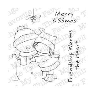 Stamps 3X4 Sheet Merry KISSmas; 2 Items/Order: Arts, Crafts & Sewing