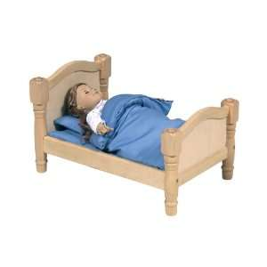 New   Doll Bed   Natural Case Pack 2   535901: Toys & Games