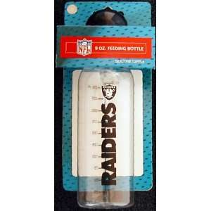 Oakland Raiders 9 Ounce Baby Bottle Baby