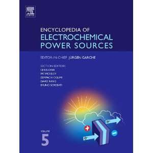 Power Sources, Five Volume Set Volume 5 (9780444535320) J. Garche