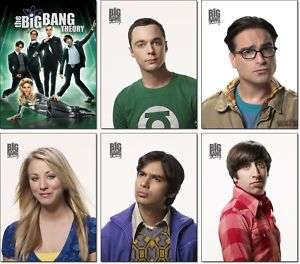 THE BIG BANG THEORY Staffel 4 cast   6 Magnete #1 ✰
