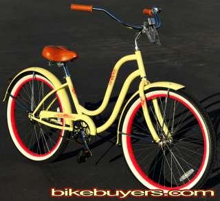 Fito Verona 26 1speed Womans Beach Cruiser Bike Bicycle Ultra wide