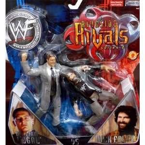 William Regal vs Mick Foley by Jakks Pacific 2001 Toys & Games