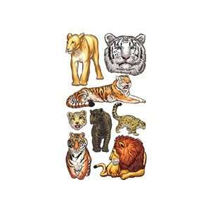 Sticko Big Cats Stickers Arts, Crafts & Sewing
