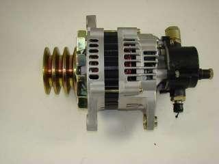 New ALTERNATOR w/ pump for ISUZU NPR 4HE1 Engine12V 80Amp