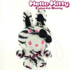 Sanrio Hello Kitty x Colorful Bunny x nicola Plush Doll
