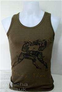 Muay Thai UFC/MMA Vests CL ATT K Mens Tank Tops Fit L