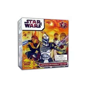 Star Wars/Clone Trooper Lenticular 48 Piece Puzzle Toys