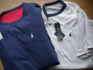 Polo Ralph Lauren Reversible Logo Tee Shirt $60 S M L XL XXL Men