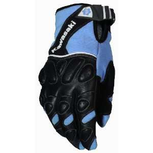 Joe Rocket Kawasaki Z Ladies Textile/Mesh Motorcycle Gloves Blue/Black