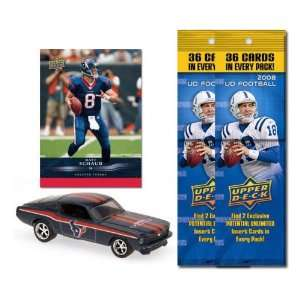 Houston Texans 1967 Ford Mustang Fastback Die Cast with