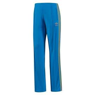 adidas adicolor firebird track pants blue orange superstar. Black Bedroom Furniture Sets. Home Design Ideas