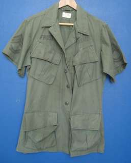 US Vietnam War Tropical Combat OD Coat